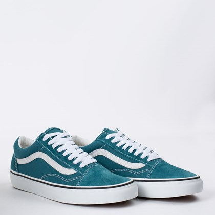 Tênis Vans Old Skool Blue Coral True White VN0A38G19E