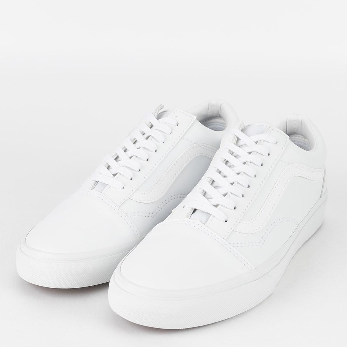 Tênis Vans Old Skool Classic Tumble True White VN0A38G1ODJ