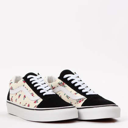 Tênis Vans Old Skool Ditsy Floral Classic White VN0A38G116Z