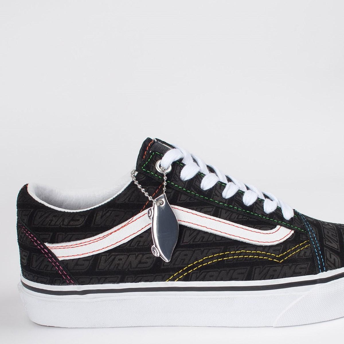 Tênis Vans Old Skool Emboss Black True White VN0A4U3BX00