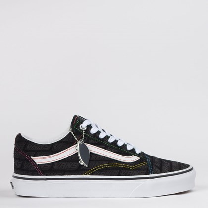 Tênis Vans Old Skool Emboss Black True White VN0A4U3BX00