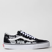 Tênis Vans Old Skool Forgotten Bones Black True White VN0A4BV5V8V