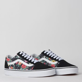 Tênis Vans Old Skool Garden Floral Black True White VN0A4BV5V8X