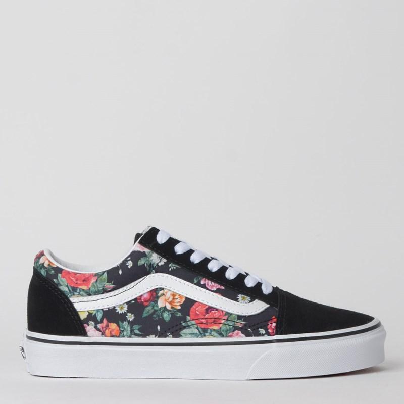 Tênis Vans Old Skool Garden Floral Black True White VN0A4BV5V8X
