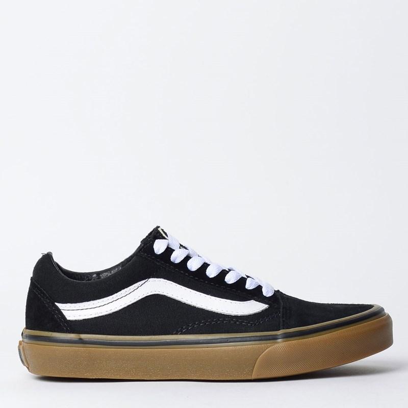 Tênis Vans Old Skool Gumsole Black Medium Gum VN0001R1GI6