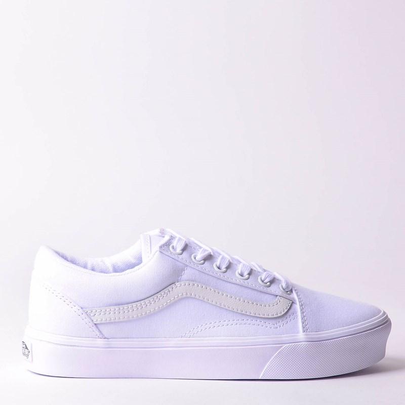 1004210f4c Tênis Vans Old Skool Lite Canvas True White True White VN0A2Z5WI7Q ...