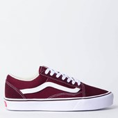 Tênis Vans Old Skool Lite Suede Canvas Port Royale True White VN0A2Z5WR2K