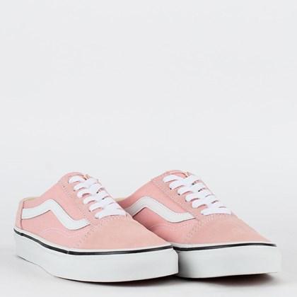 Tênis Vans Old Skool Mule Powder Pink True White VN0A4P3Y9AL
