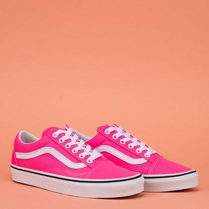 Tênis Vans Old Skool Neon Knouckout Pink VN0A4U3BWT6