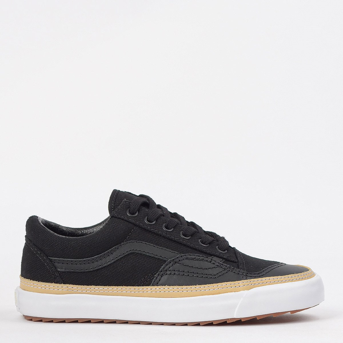 Tênis Vans Old Skool Overply Era Vamp Black White VN0A4U14XFZ