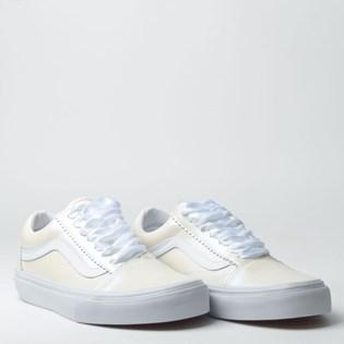 Tênis Vans Old Skool Pearl Suede Classic White True White VNBA38G1VMGP