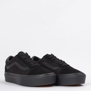 Tênis Vans Old Skool Platform Black Black VN0A3B3UBKA