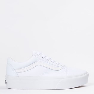 Tênis Vans Old Skool Platform True White VN0A3B3UW00