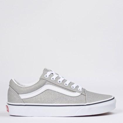 Tênis Vans Old Skool Silver True White VN0A4U3BX1K