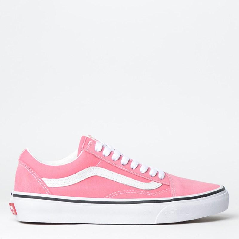 Tênis Vans Old Skool Strawberry Pink True White VNBA38G1GY7P