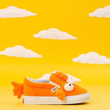 Tênis Vans Simpsons Fish Slip On V Kids Blinky VN0A4VJV16W