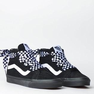 ... Tênis Vans Sk8 Hi Alt Lace Checkerboard Black Black VN0A3TKLVL5P 0bc453cc363