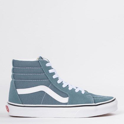 Tênis Vans Sk8 Hi Blue Mirage True White VN0A4U3CX17