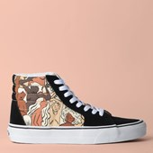Tênis Vans Sk8 Hi Breast Cancer Ladies True White VN0A4BV6TRL
