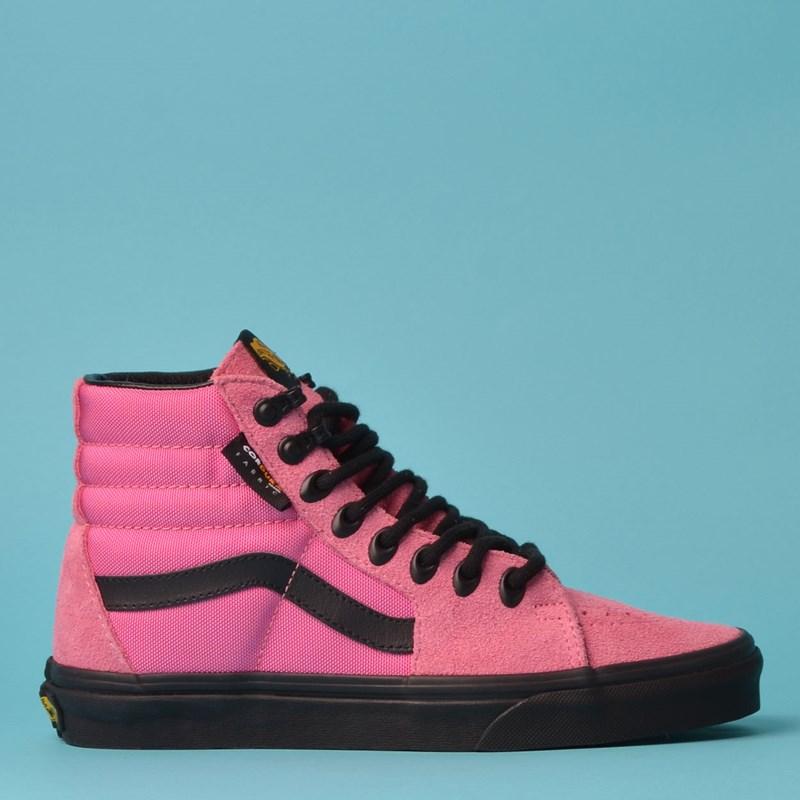 Tênis Vans Sk8 Hi Cordura Azalea Pink Black VN0A4BV6XK5