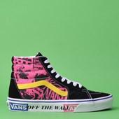 Tênis Vans Sk8 Hi Lady Azalea Pink True White VN0A4BV6VXR
