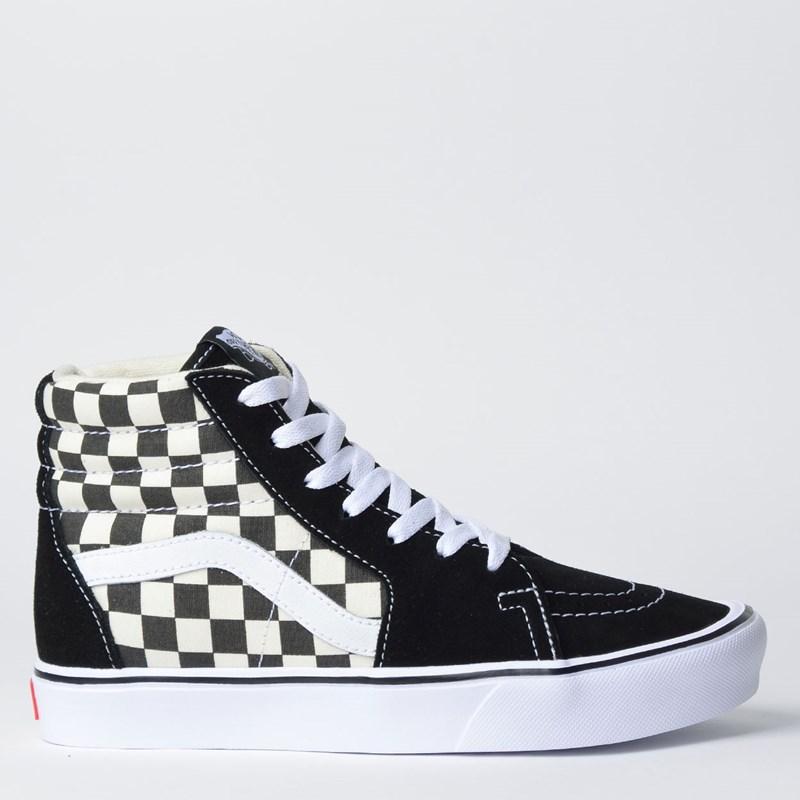 Tênis Vans Sk8 Hi Lite Checkerboard VN0A2Z5Y5GX - Loja Virus 7d594e1ed23ad