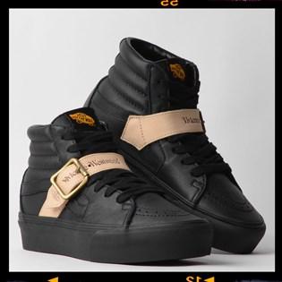 Tênis Vans Sk8 Hi Platform PS Vivienne Westwood Leather Black VN0A4BTUXKP