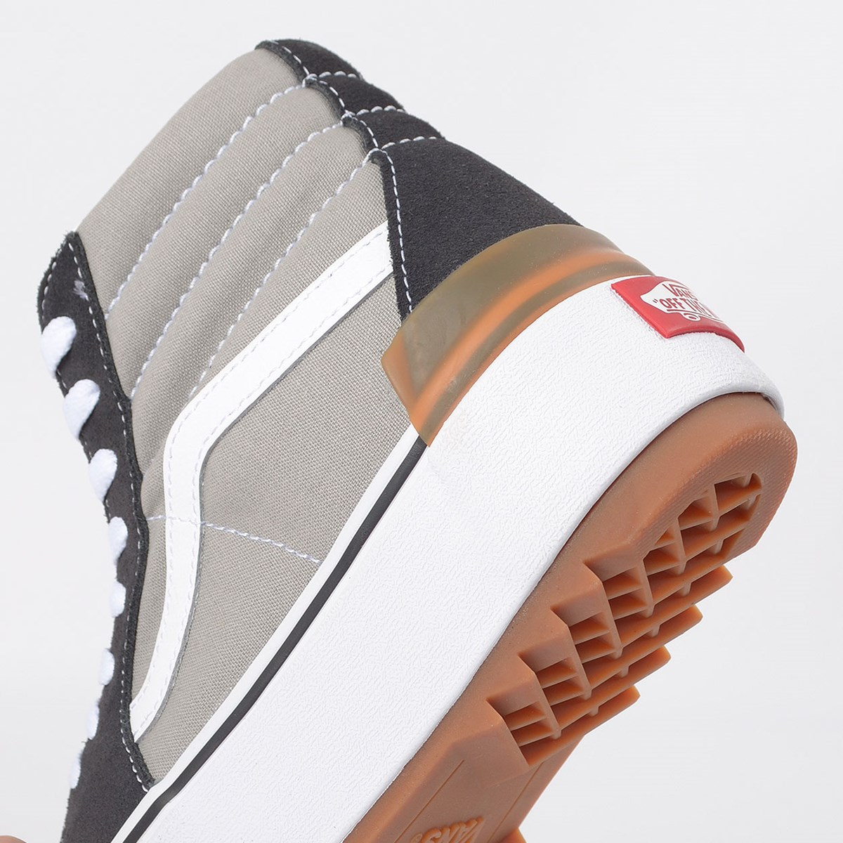 Tênis Vans Sk8 Hi Stacked Drizzle True White VN0A4BTWIYP