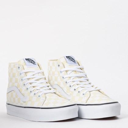 Tênis Vans Sk8 Hi Tapered Checkerboard White VN0A4U16XHW