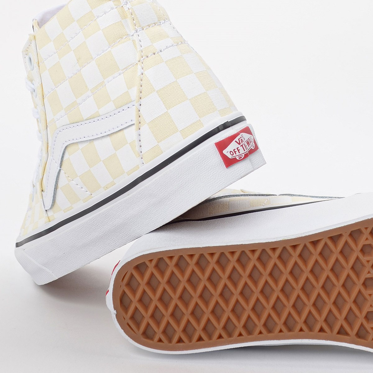 Tênis Vans Sk8 Hi Tapered Checkerboard White VN0A4U16XHW