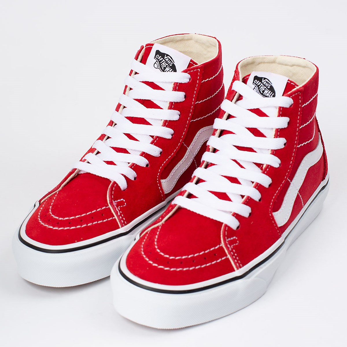Tênis Vans Sk8 Hi Tapered Racing Red True White VN0A4U16JV6