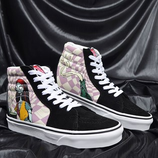 Tênis Vans Sk8 Hi The Nightmare Before Christimas Sallys Potion Nightmare VN0A4BV6TRO