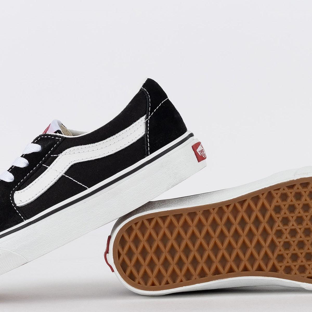 Tênis Vans Sk8 Low Black True White VN0A4UUK6BT