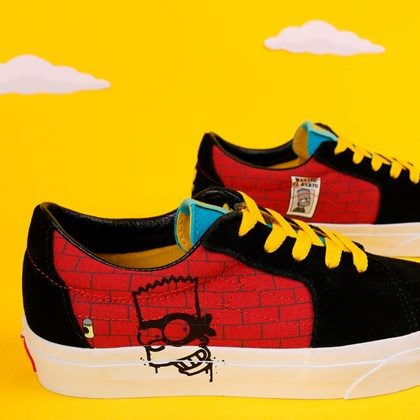 Tênis Vans SK8 Low Simpsons El Barto VN0A4UUK17A