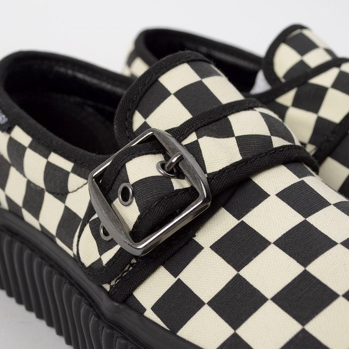 Tênis Vans Style 47 Creeper Black Classic White VN0A4U1BTYQ