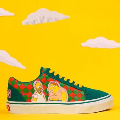 Tênis Vans The Simpsons Old Skool Moes VN0A4BV521LP