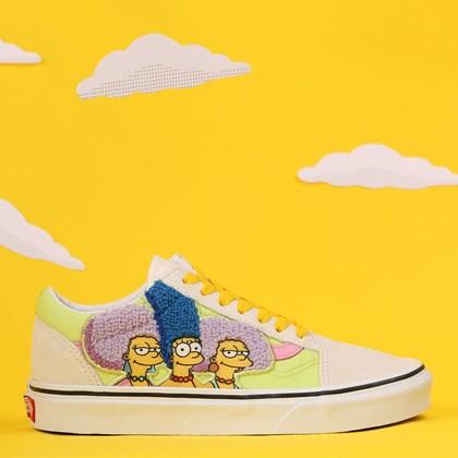 Tênis Vans The Simpsons Old Skool The Bouviers VN0A4BV521MP