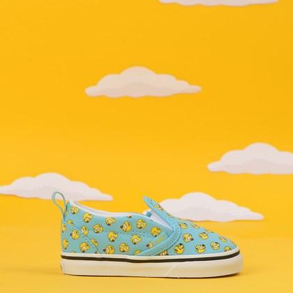 Tênis Vans The Simpsosn Slip On V Baby Maggie Blue VN0A348817J