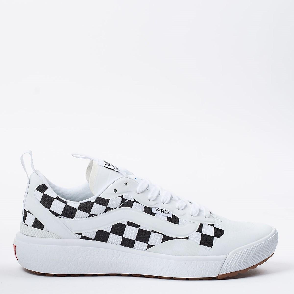 Tênis Vans Ultrarange Exo Checkerboard True White Black VN0A4U1K27I