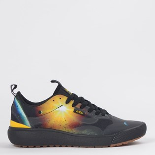 Tênis Vans Ultrarange Exo National Geographic Black Yellow VN0A4U1KXU3