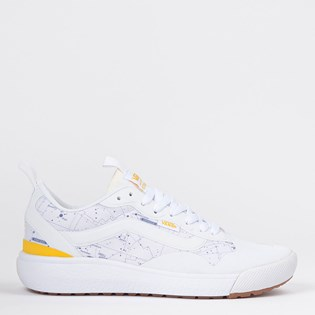 Tênis Vans Ultrarange Exo National Geographic White Yellow VN0A4U1KXU4