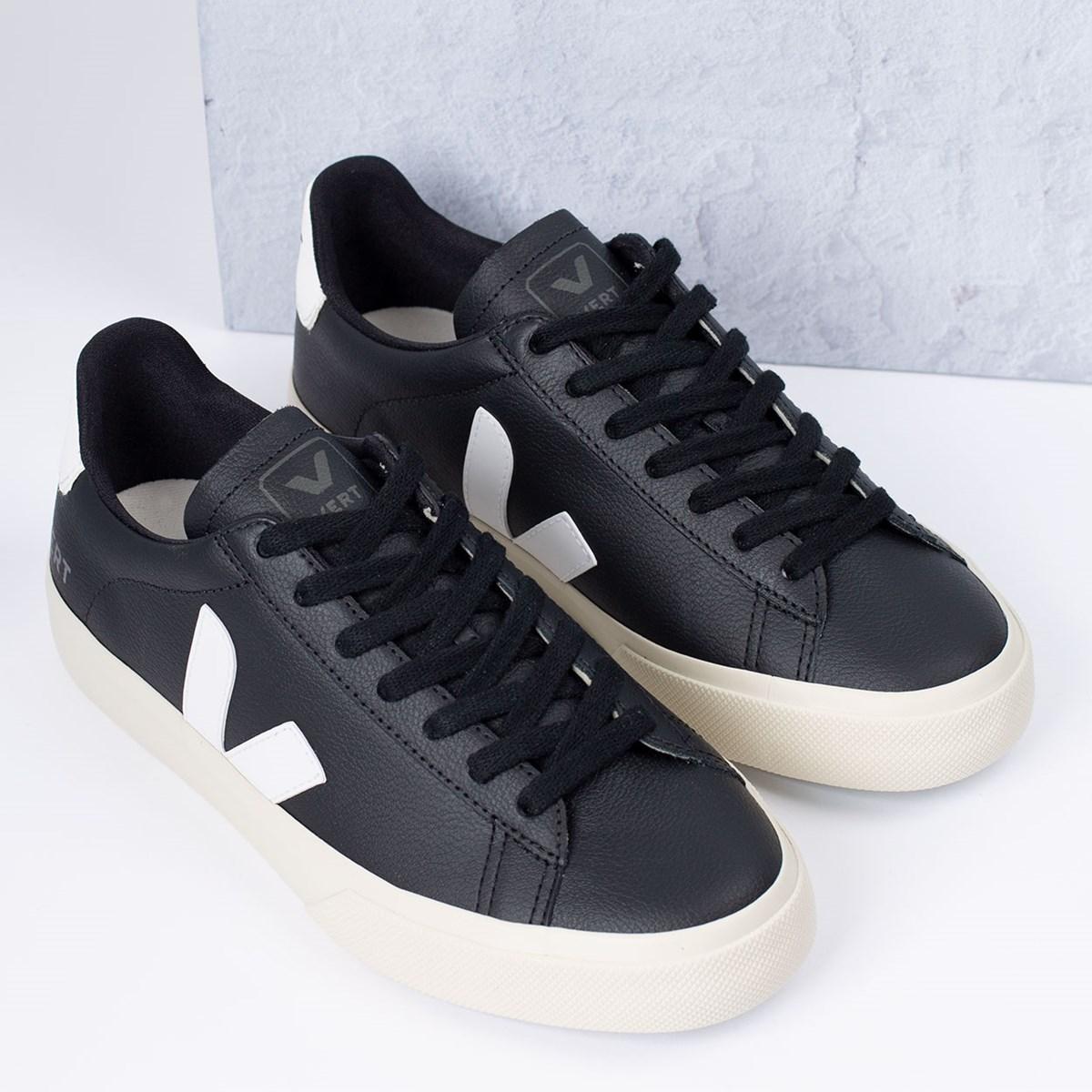 Tênis Vert Shoes Campo Chromefree Black White CP051215