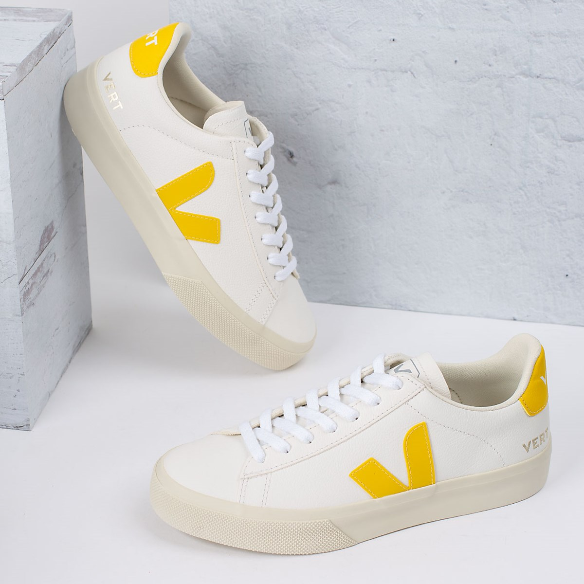 Tênis Vert Shoes Campo Chromefree Leather Extra White Tonic CP052290
