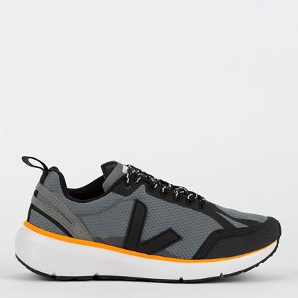 Tênis Vert Shoes Condor 2 Alveomesh Concrete Black Neon Orange CL012484