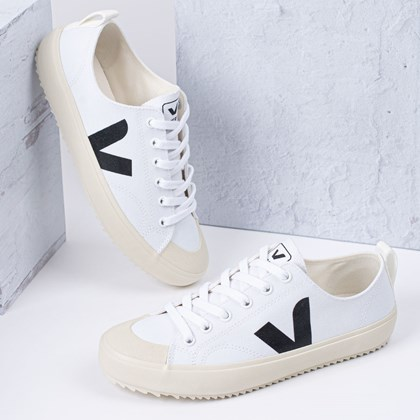 Tênis Vert Shoes Nova Canvas White Black NA011537
