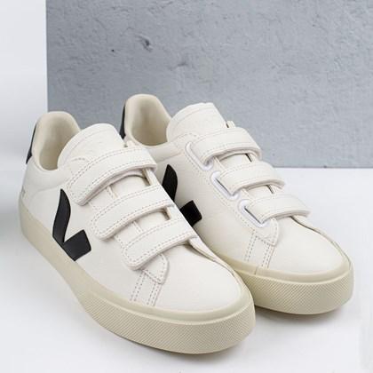 Tênis Vert Shoes Recife Logo Chromefree Extra White Black RC052693