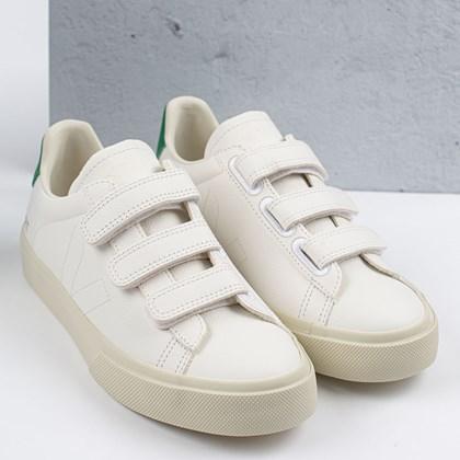 Tênis Vert Shoes Recife Logo Chromefree Extra White Emeraude RE052736