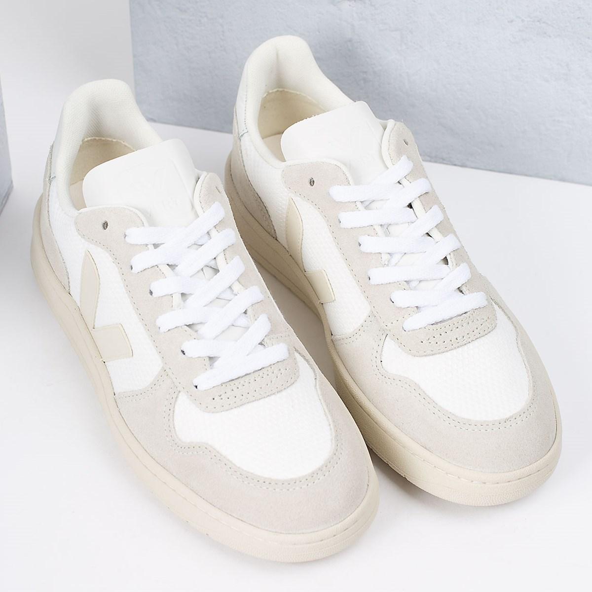 Tênis Vert Shoes V-10 B-Mesh White Natural Pierre VX012499