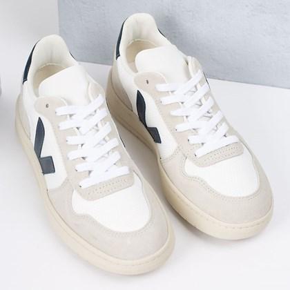 Tênis Vert Shoes V-10 B-Mesh White Nautico VX011380