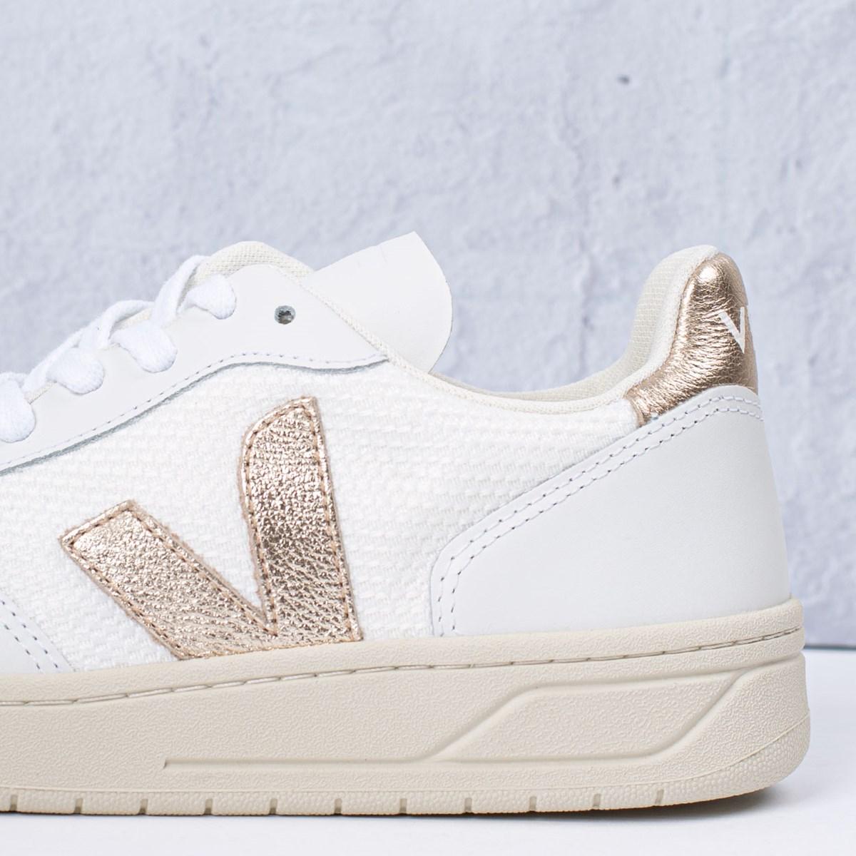 Tênis Vert Shoes V-10 B-Mesh White Platine VX012463